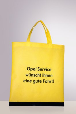 Opel Non woven bags, front and back different motifs