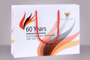 Exclusive paper bags, Indonesian Embassy