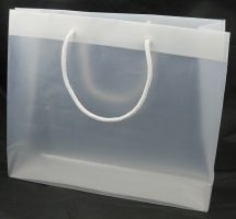 Transparent bags without print