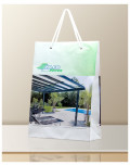 Promotional Bag In Transparent Plastic Alco Stores bagobag