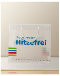 Promotional Bag In Transparent Plastic hitzefrei bagobag
