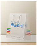 Promotional Bag In Transparent Plastic hitzefrei side bagobag