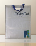 PP Woven Bag promotion with engraving Tomra