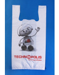 Custom T-Shirt Bags technopolis detail bagobag