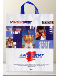Flexible Soft Loop Advertising Bag intersport back bagobag