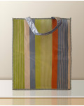 Non Woven Laminated Bag custom striped bagobag