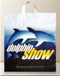 Flexible Soft Loop Advertising Bag dolphin show bagobag