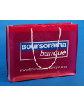 Promotional Bag In Transparent Plastic Boursorama Banque bagobag