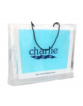 Promotional Bag In Transparent Plastic charlie bagobag
