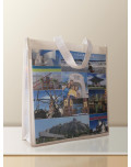 Non Woven Laminated Bag custom discover LA side bagobag