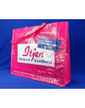 PP Woven Bag shopper made of polypropylene with nylon handle
