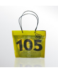 Promotional Bag In Transparent Plastic Radio105 bagobag
