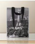 Non Woven Laminated Bag custom tour eiffel bagobag