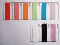 Selection of cotton straps