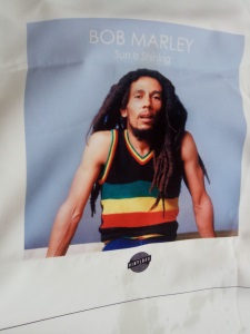 Bob Marley Cotton bag digitally printed vinyl bag