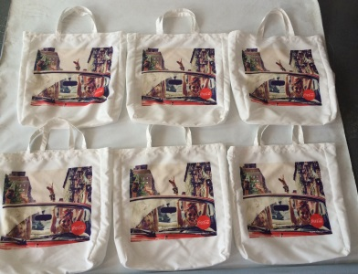 Coca Cola bag digital printing