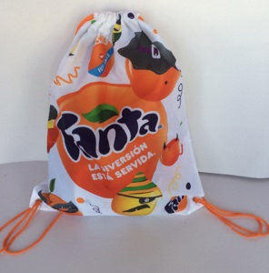 Fanta bag Digitaldruck