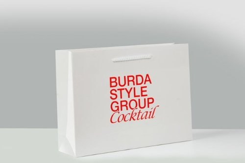 Paper bags with logo print