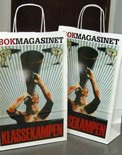 Print kraftpaper bag bok magasinet