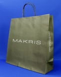 paper bag with paper cord makris