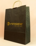 paper bag with paper cord finside