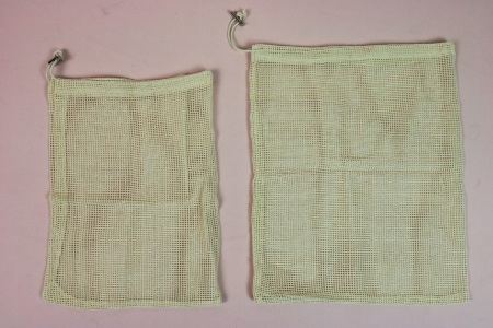 fruit and vegetable net bag cotton 2 size