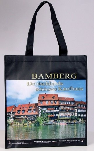 Bamberg, front side, Non-Woven laminated