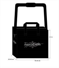 Layout with print, design bags