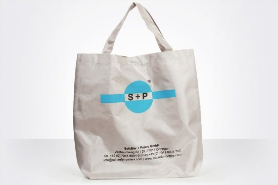 Schäfer and Peters, exclusive nylon bag