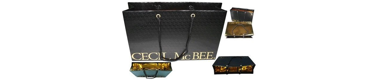 Cecil McBee exclusive shoppers made of paper