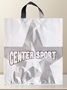 flexible soft loop advertising bag center sport