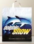 flexible soft loop advertising bag dauphin show