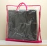 pillow custom bag transparent pink (2)